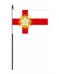 Yorkshire West Riding Hand Flag - Small
